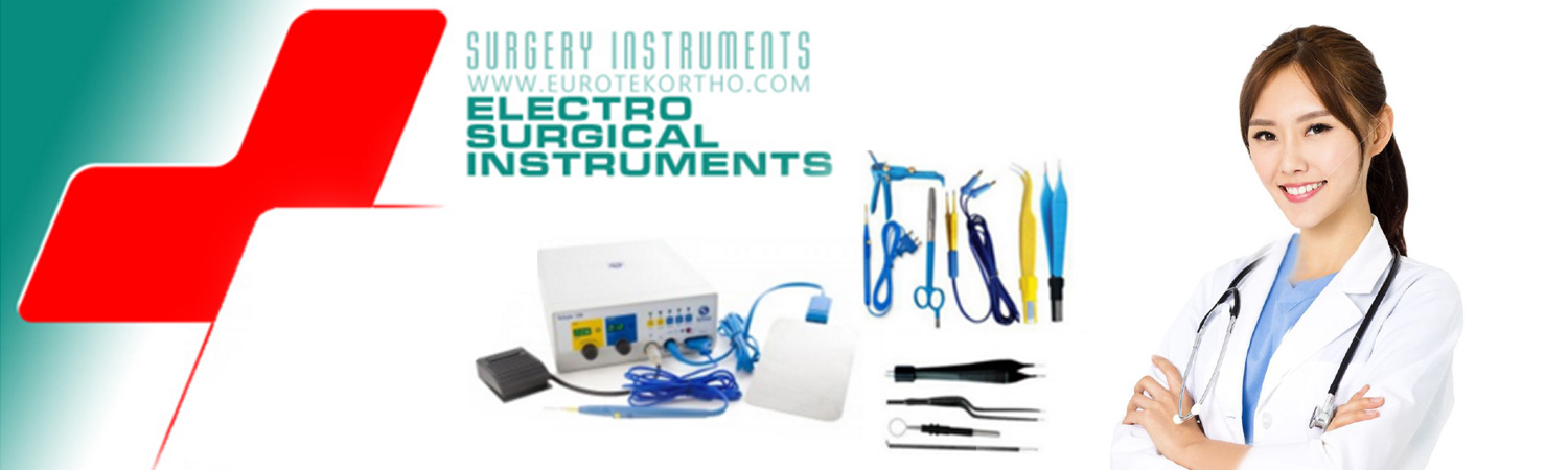 Electro surgical instruments